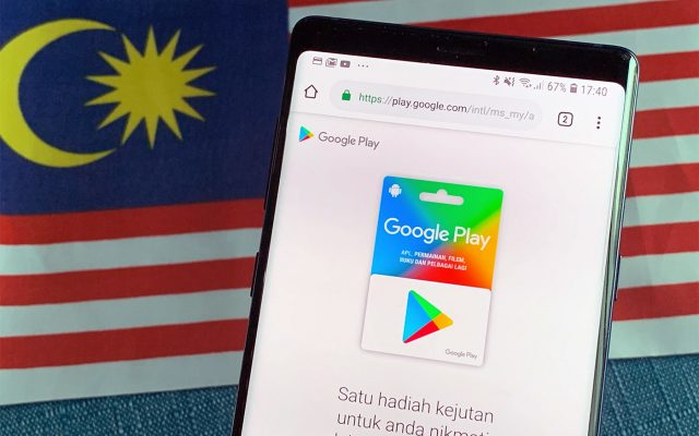 Google Play Gift Cards are now available in Malaysia