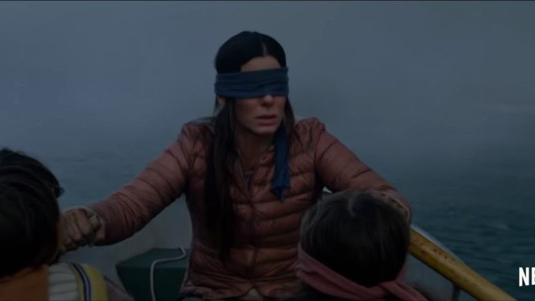 Please don't hurt yourself doing the Bird Box Challenge!