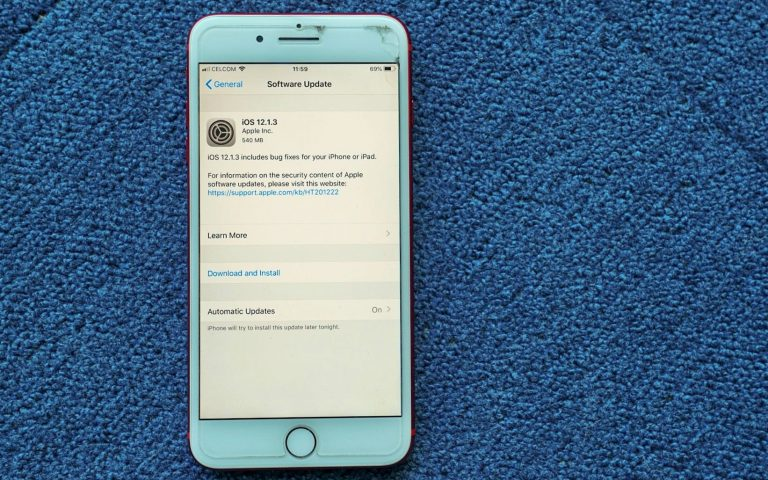 iPhone and iPad: Latest iOS update version 12.1.3 is now available for download