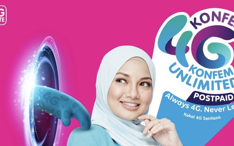 Yes Konfem Unlimited postpaid offers unlimited data from RM49/month