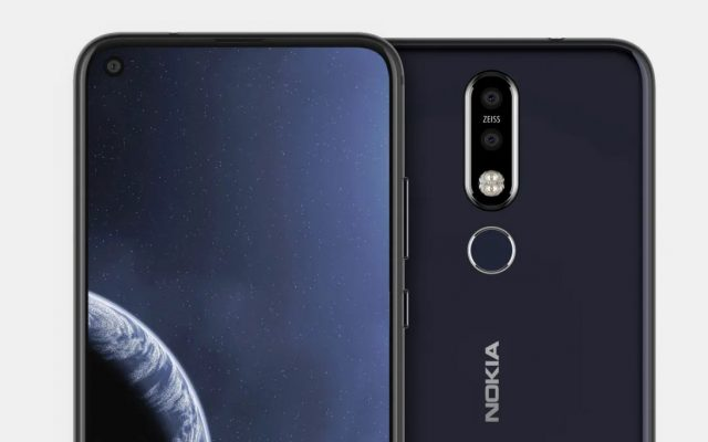 Nokia's upcoming smartphone has a hole in the display