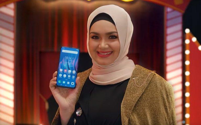 Dato Siti Nurhaliza teases the Vivo V15 is coming to Malaysia very soon