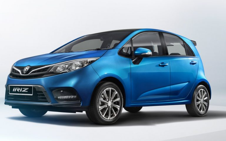 Here are official photos of the Proton Iriz facelift for 2019