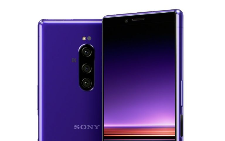 Xperia 1: Sony's new flagship gets taller with a cinematic 4K OLED display