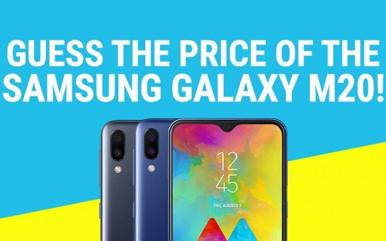 You can get the Samsung Galaxy M20 at RM100 off if you can guess the price correctly
