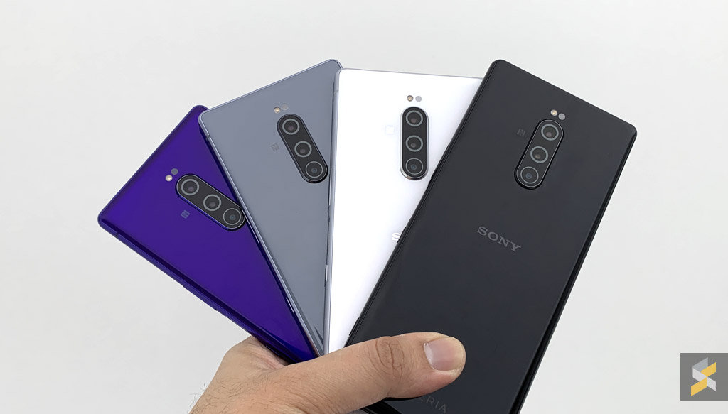 The Sony Xperia 1, Xperia 10 and Xperia 10 Plus are now available in