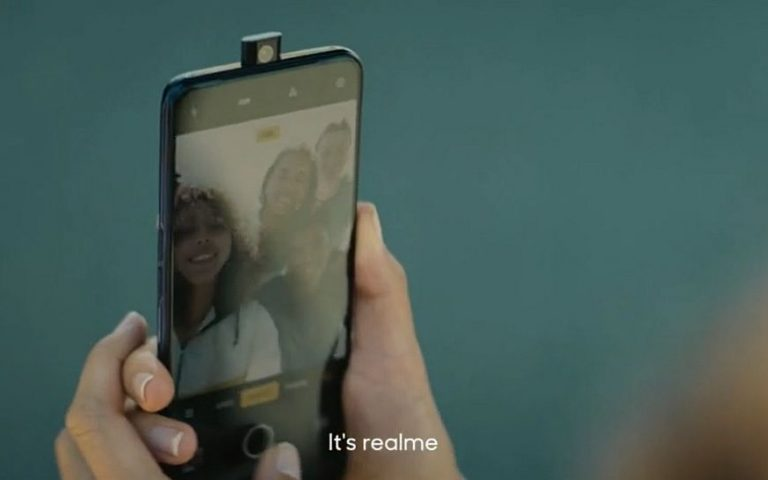 Realme's new smartphone has no notches. Looks like an Oppo F11 Pro
