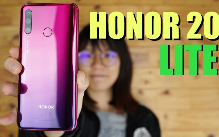 Honor 20 Lite unboxing