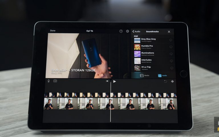 The latest iMovie for iOS allows you to edit videos over a green screen