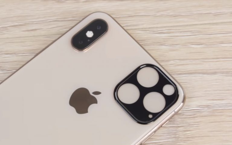 This tiny accessory confirms camera layout on the iPhone 11 series