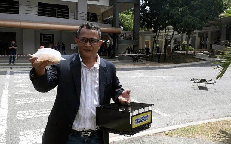 Malaysians will see drone food delivery trials by end of June