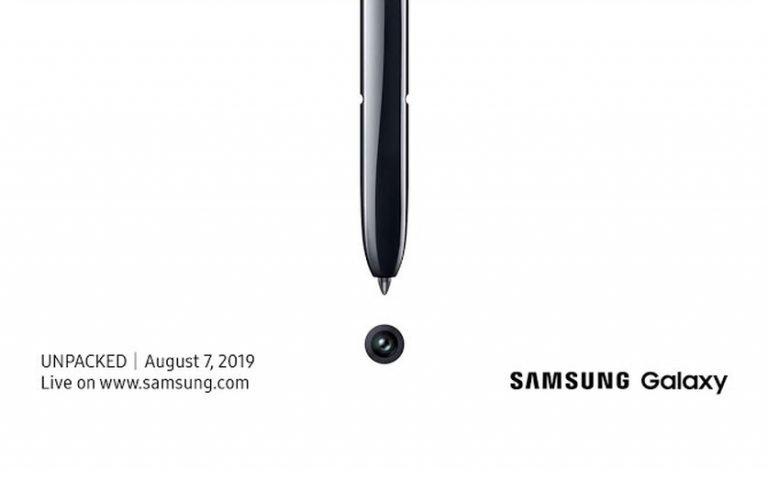 CONFIRMED: Samsung Galaxy Note 10 launch is happening on 7 August