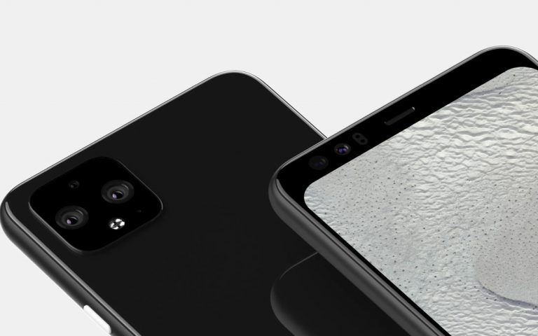 Google Pixel 4 XL renders reveal a total of 5 cameras and there's no notch