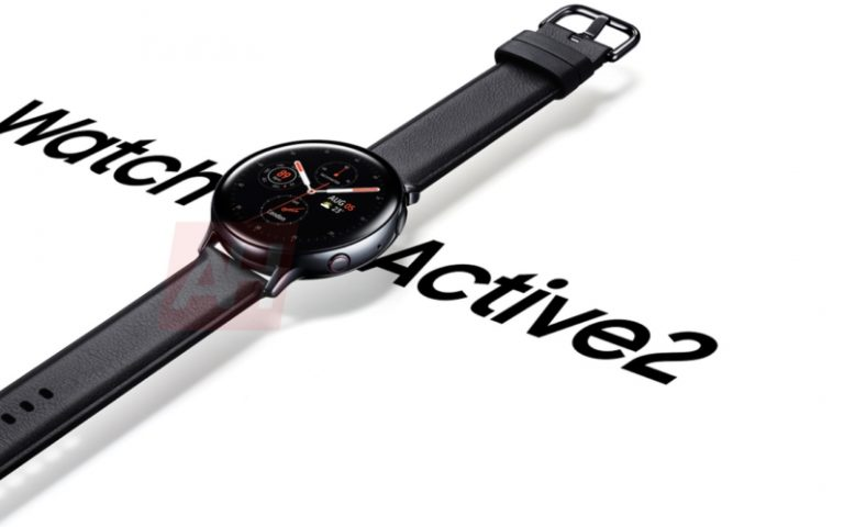 Samsung Galaxy Watch Active 2 promo images appear, might launch with the Galaxy Note 10