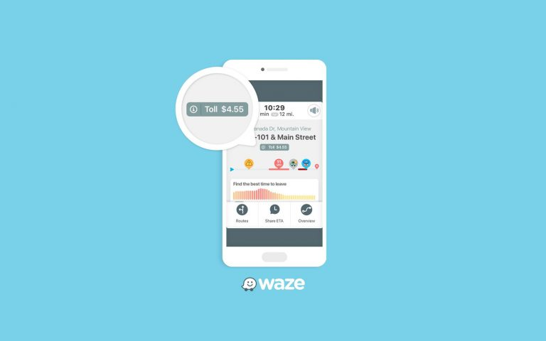 Waze rolls out update that tells drivers how much tolls will cost