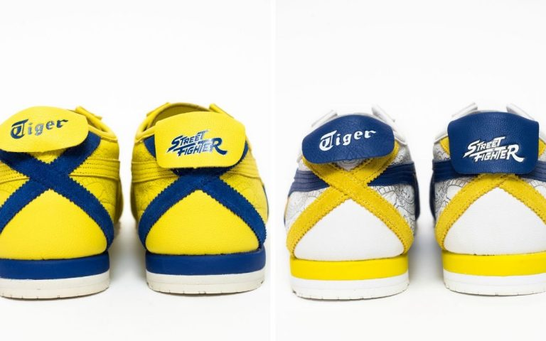 Dear Street Fighter fans, these Onitsuka Tigers are for you