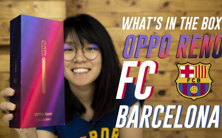 Oppo Reno FC Barcelona Edition unboxing & hands-on