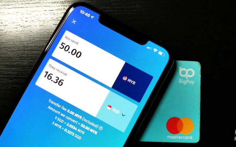 BigPay now lets you transfer money to local and international bank accounts