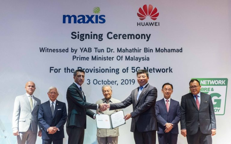 Maxis signs 5G provision agreement with Huawei to accelerate 5G readiness
