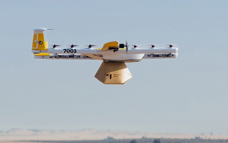 Google becomes the first company in the U.S. to complete drone delivery