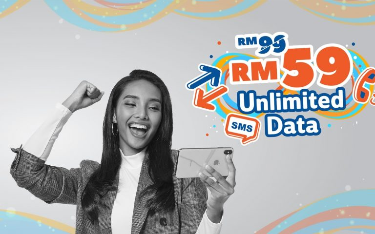 Unifi Mobile offers unlimited data, calls and SMS for RM59/month
