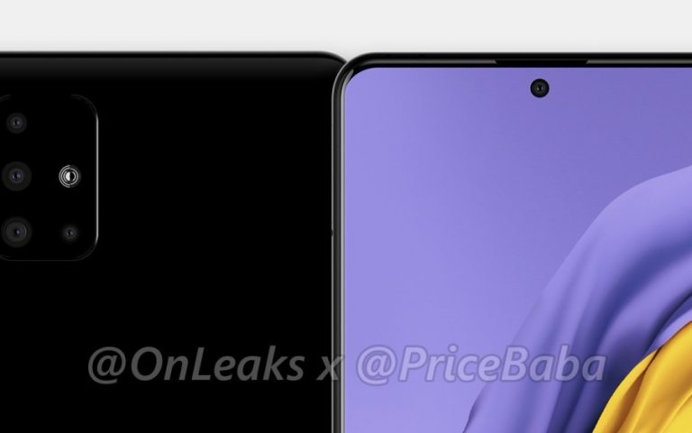 Samsung Galaxy A51 looks like a Google Pixel 4 with four cameras
