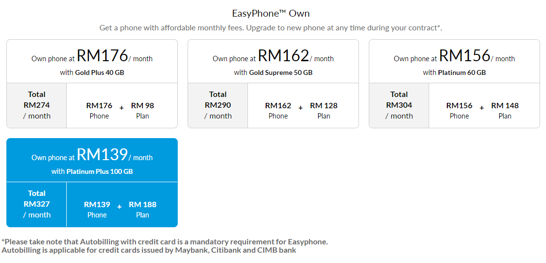 Celcom EasyPhone Own Huawei Mate 30 Pro