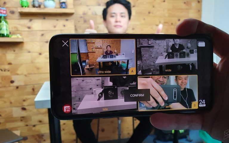 This iPhone app combines Huawei's Dual-View and Nokia's Bothie mode