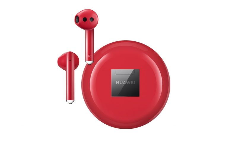 Huawei releases FreeBuds 3 ANC earphones in Red for Valentine's Day