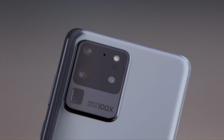 How is the Galaxy S20 Ultra's 108MP cam different from the Mi Note 10?