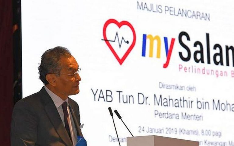 MySalam: 8 million M'sians now eligible for government health insurance
