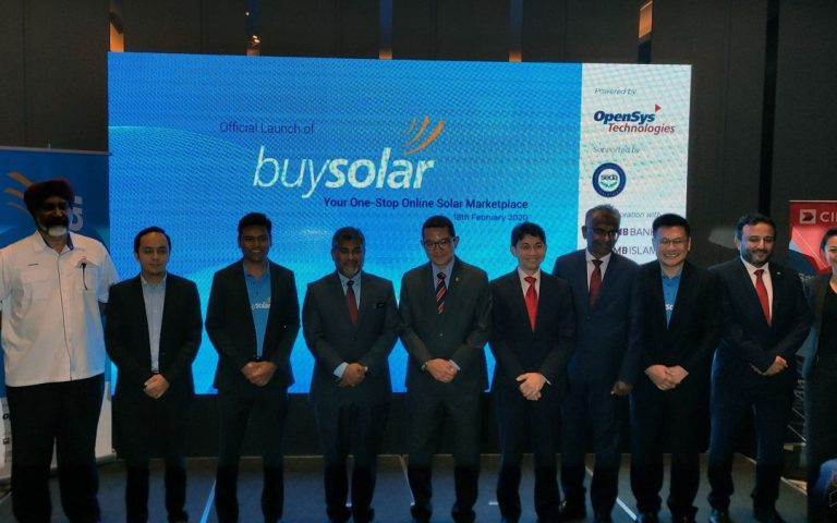 This is BuySolar, an online marketplace for solar energy products