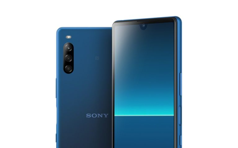 Sony unveils its first smartphone with a notch