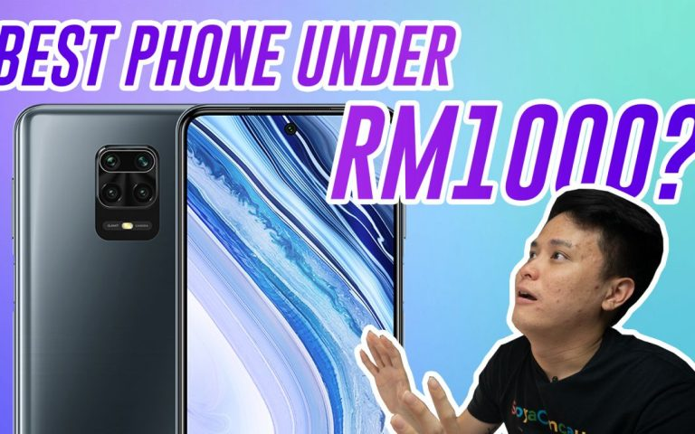 Is the Redmi Note 9 Pro Max the best smartphone below RM1,000? | ICYMI #291