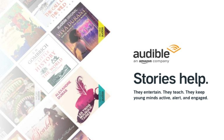 Audible provides free access to children's books worldwide