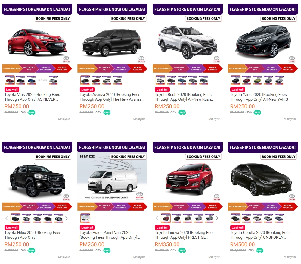 Lazada Toyota Official Store