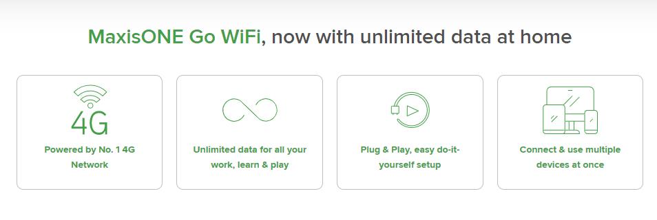 MaxisOne Go WiFi unlimited