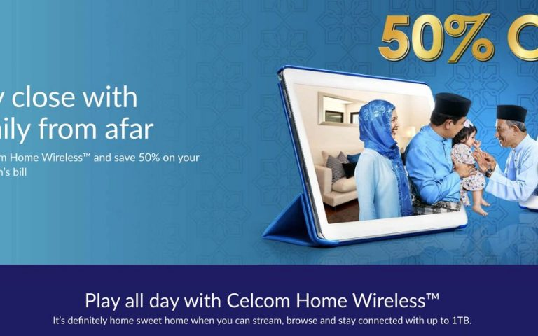 Celcom offers Home Wireless Broadband from RM35 for the first month