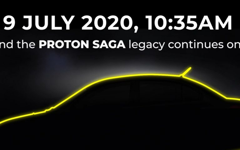 A Proton Saga 35th anniversary edition expected to be unveiled on 9 July