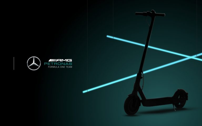 Xiaomi partners with Mercedes-AMG Petronas F1 Team for its special edition scooter