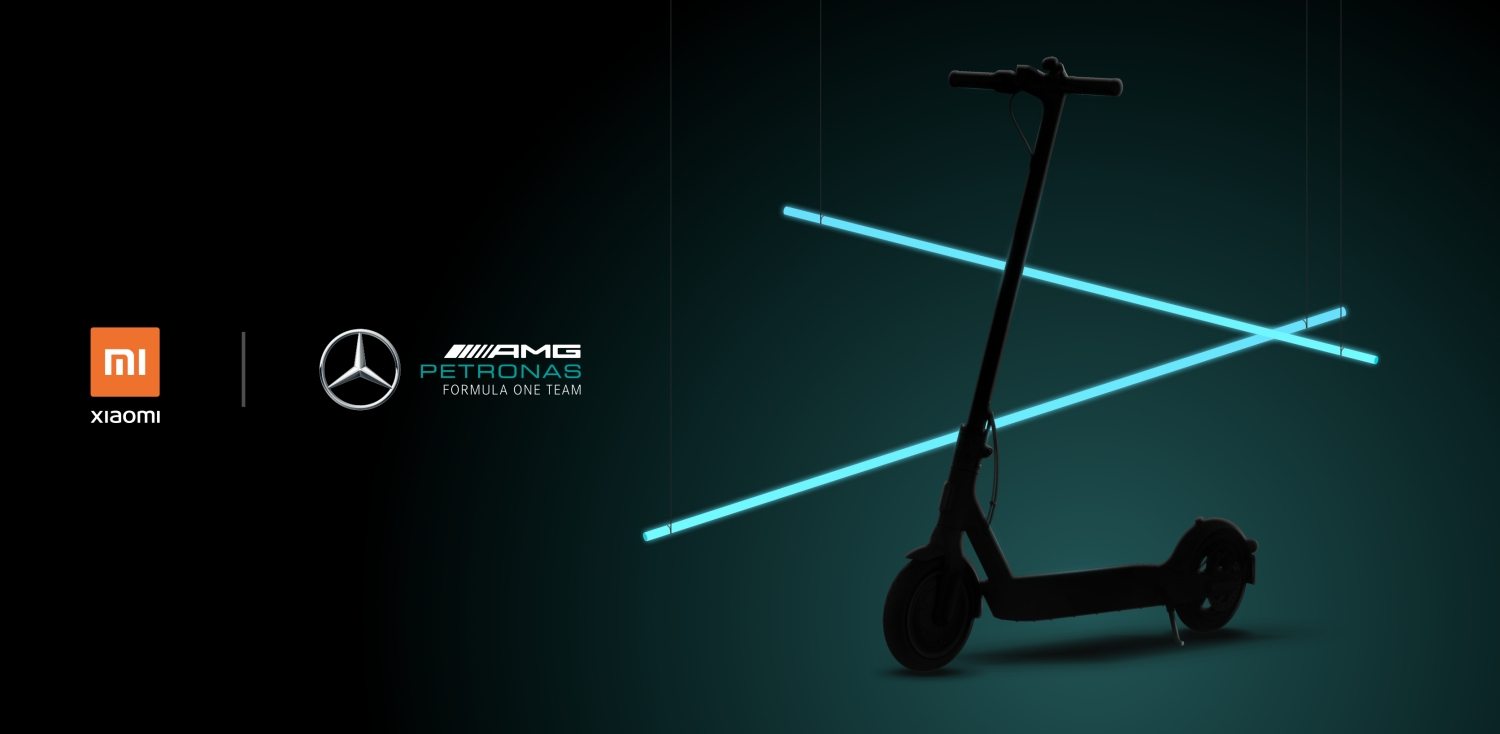 Xiaomi x Mercedes-AMG Petronas F1 Electric Scooter Pro 2
