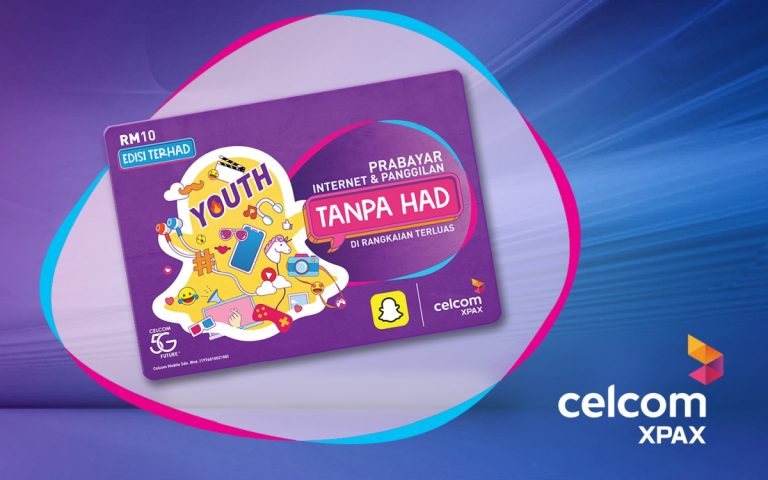 Celcom releases limited edition Xpax prepaid with unlimited Snapchat