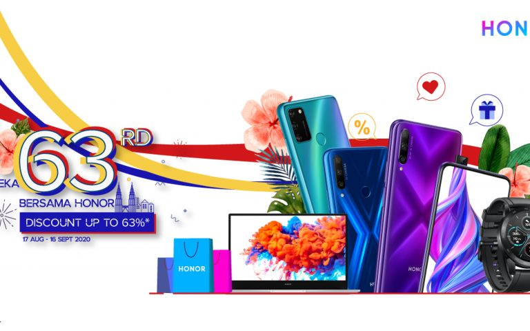Deal: Honor is offering discounts up to 63% for their upcoming Merdeka sale