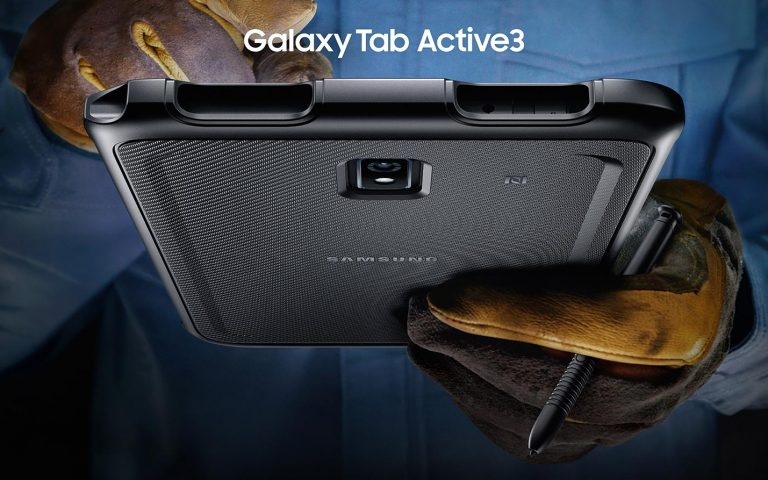 The Samsung Galaxy Tab Active 3 is a water resistant tablet that can survive a 1.5m drop