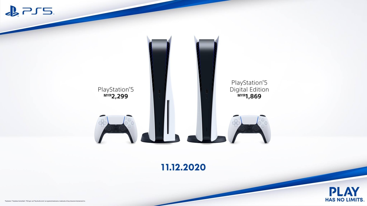 Sony PS5 Official Price