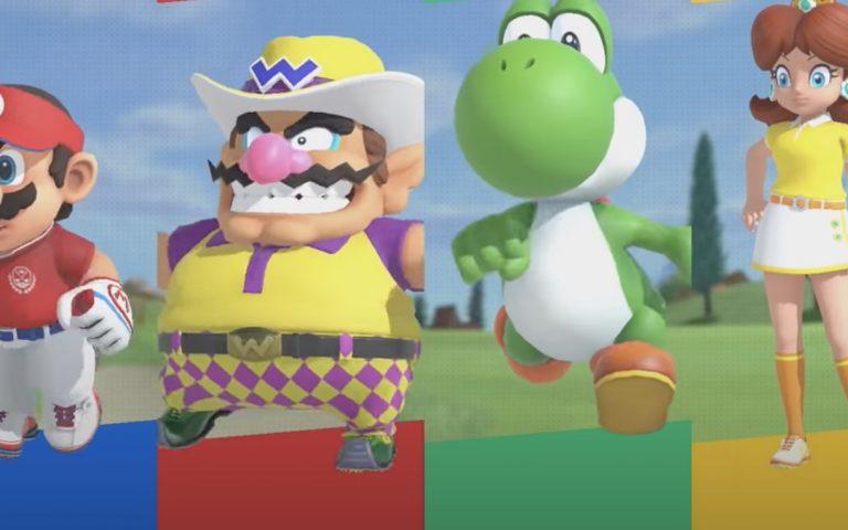 Nintendo's upcoming Mario Golf will include a fine, fresh, fierce-looking Wario